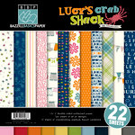 Bazzill Basics - Lucy's Crab Shack Collection - 12 x 12 Assortment Pack