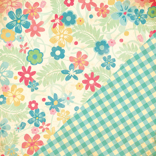 Bazzill - Margie Romney Aslett - Ambrosia Collection - 12 x 12 Double Sided Paper - Ambrosia