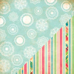 Bazzill - Margie Romney Aslett - Ambrosia Collection - 12 x 12 Double Sided Paper - Doilies