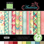Bazzill Basics - Margie Romney Aslett - Ambrosia Collection - 12 x 12 Assortment Pack