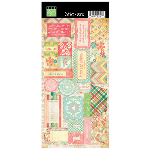 Bazzill Basics - Margie Romney Aslett - Ambrosia Collection - Cardstock Stickers