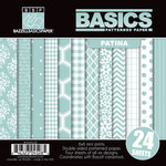 Bazzill - Basics Collection - 6 x 6 Assortment Pack - Patina