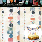 Bazzill Basics - Stitched Banners - Summer