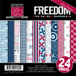Bazzill Basics - Freedom Collection - 6 x 6 Assortment Pack