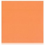 Bazzill Basics - Two Scoops Collection - 12 x 12 Sandable Cardstock - Orange Sorbet