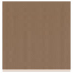 Bazzill Basics - Two Scoops Collection - 12 x 12 Sandable Cardstock - Fudge Ripple