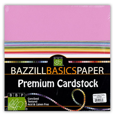 Bazzill Basics - 12 x 12 Premium Cardstock Multi-Pack - 100 Sheets