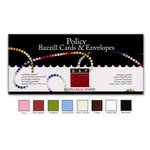 Bazzill - Cards and Envelopes - 45 Pack - Policy
