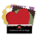 Bazzill Basics - Cardstock with an Edge Collection Pack, CLEARANCE