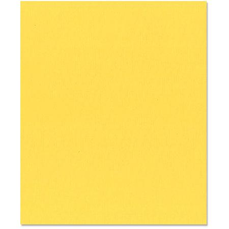 Bazzill Basics - 8.5 x 11 Cardstock - Orange Peel Texture - Lemon Drop