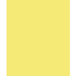 Bazzill - Card Shoppe - 8.5 x 11 Cardstock - Premium Smooth Texture - Sour Lemon