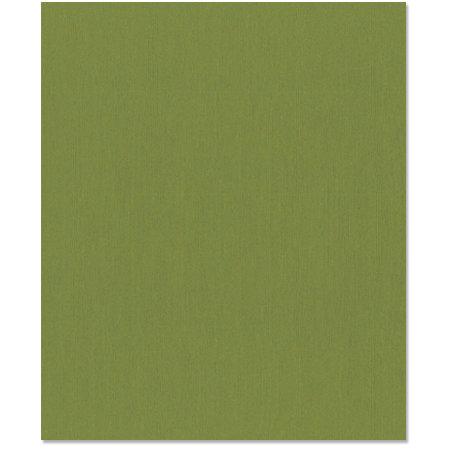 Bazzill Basics - 8.5 x 11 Cardstock - Grasscloth Texture - Guacamole
