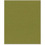 Bazzill Basics - 8.5 x 11 Cardstock - Canvas Texture - Saguaro