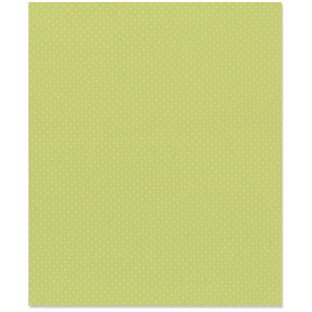 Bazzill Basics - 8.5 x 11 Cardstock - Dotted Swiss Texture - Celtic Green