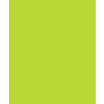 Bazzill - Card Shoppe - 8.5 x 11 Cardstock - Premium Smooth Texture - Juicy Pear