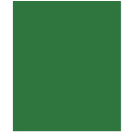 Bazzill - 8.5 x 11 Cardstock - Smooth Texture - Shamrock