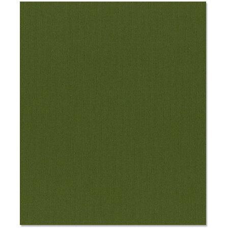 Bazzill - 8.5 x 11 Cardstock - Canvas Texture - Ivy