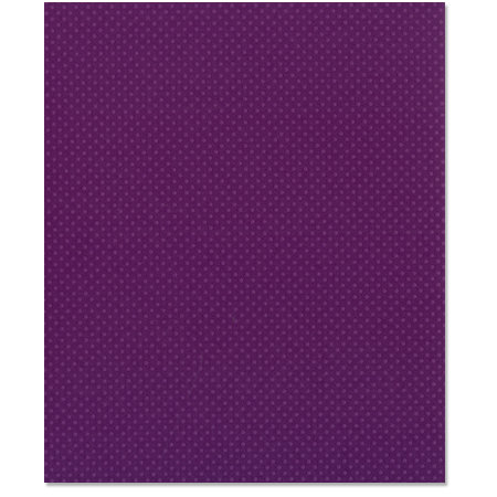 Bazzill - 8.5 x 11 Cardstock - Dotted Swiss Texture - Plum Pudding