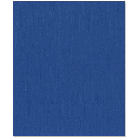 Bazzill Basics - 8.5 x 11 Cardstock - Canvas Texture - Bazzill Blue