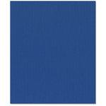 Bazzill - 8.5 x 11 Cardstock - Burlap Texture - Bazzill Blue
