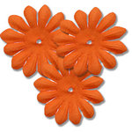 Bazzill Basics - Bitty Blossoms Flowers - Approximately 35 Pieces - Hazard