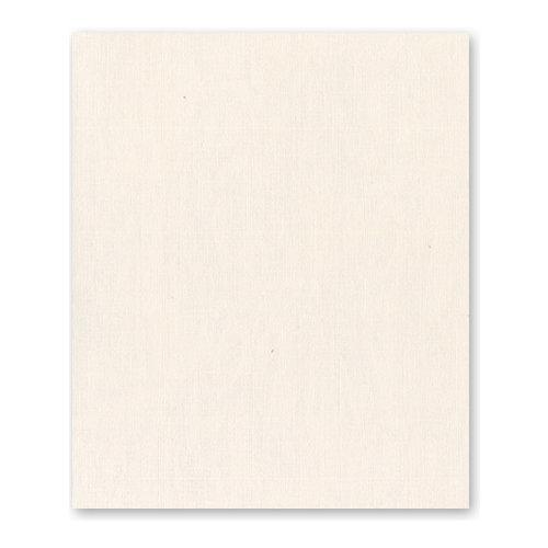 Bazzill Basics - 8.5 x 11 Cardstock - Canvas Texture - Vanilla