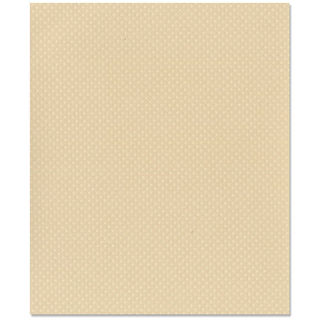Bazzill Basics - 8.5 x 11 Cardstock - Dotted Swiss Texture - Sandbox