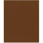 Bazzill - 8.5 x 11 Cardstock - Canvas Texture - Nutmeg