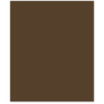 Bazzill - 8.5 x 11 Cardstock - Smooth Texture - Hot Fudge