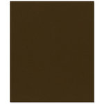 Bazzill - 8.5 x 11 Cardstock - Canvas Texture - Java