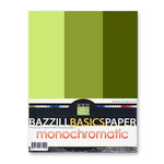 Bazzill - Monochromatic Trio Packs - 8.5x11 - Hillary