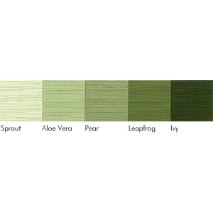 Bazzill Basics - Monochromatic Packs 12x12 - Greens