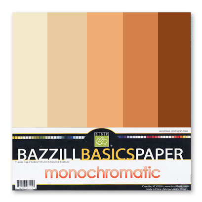 Bazzill Basics - Monochromatic Packs 12x12 - Oranges