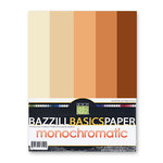 Bazzill Basics - Monochromatic Packs 8.5x11 - Oranges, CLEARANCE