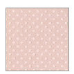 Bazzill Basics - Dotted Swiss - 12 x 12 Paper - Sunset Rose