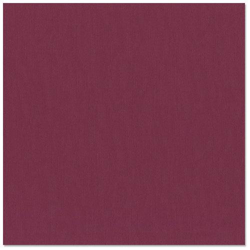 Bazzill - 12 x 12 Cardstock - Canvas Texture - Juneberry