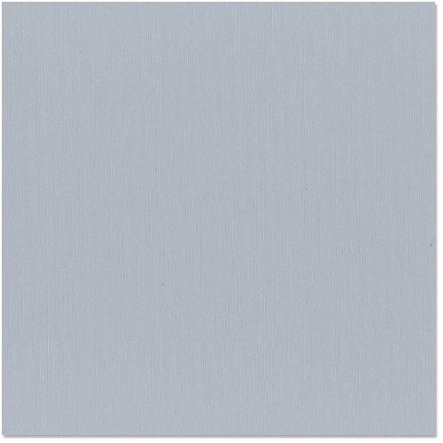 Bazzill - 12 x 12 Cardstock - Canvas Texture - Smoky