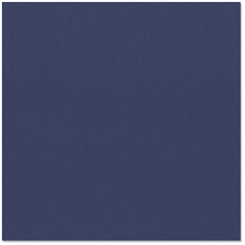 Bazzill - 12 x 12 Cardstock - Classic Texture - Indigo