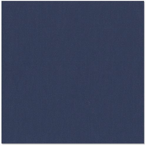 Bazzill - 12 x 12 Cardstock - Classic Texture - Midnight