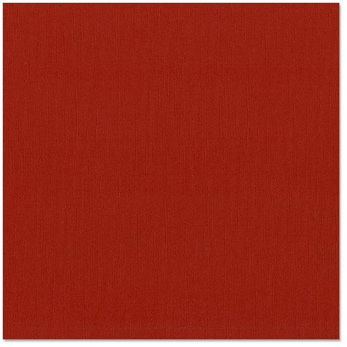 Bazzill - 12 x 12 Cardstock - Grasscloth Texture - Red Devil