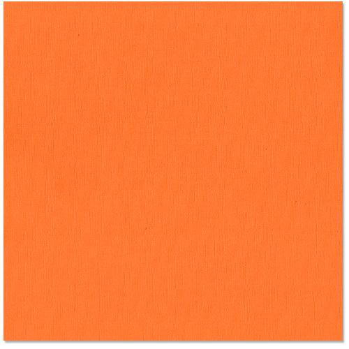 Bazzill - 12 x 12 Cardstock - Criss Cross Texture - Marmalade