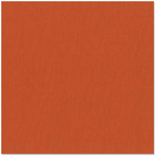 Bazzill Basics - 12 x 12 Cardstock - Grasscloth Texture - Burning Ember