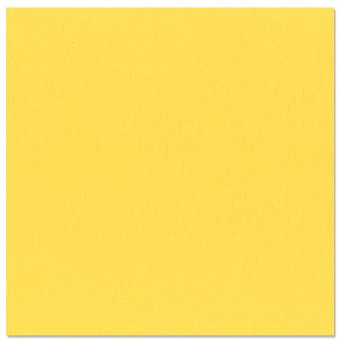 Bazzill - 12 x 12 Cardstock - Burlap Texture - Lemon Drop
