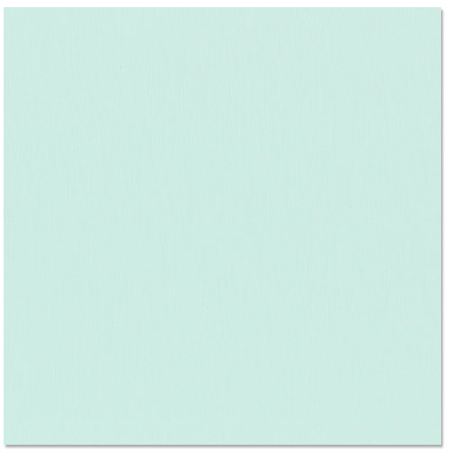 Bazzill Basics - 12 x 12 Cardstock - Grasscloth Texture - Turquoise Mist