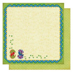 Best Creation Inc - Dinosaur Collection - 12 x 12 Double Sided Glitter Paper - Dino-Mite