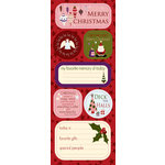 Best Creation Inc - FaLaLa Christmas Collection - Expressions - Die Cut Chipboard Pieces