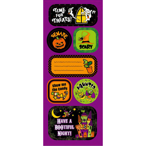 Best Creation Inc - Haunted House Collection - Halloween - Expressions - Die Cut Chipboard Pieces