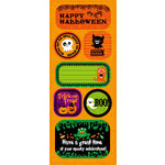 Best Creation Inc - Trick or Treat Collection - Halloween - Expressions - Die Cut Chipboard Pieces