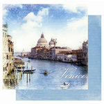 Best Creation Inc - Europe Collection - 12 x 12 Double Sided Glitter Paper - Venice