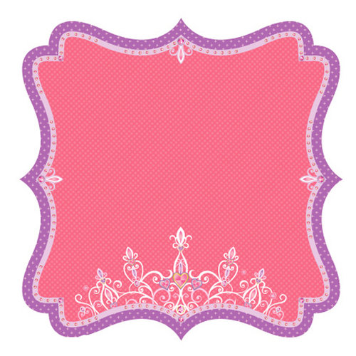 Best Creation Inc - Once Upon A Dream Collection - 12 x 12 Die Cut Glitter Paper - Royalty